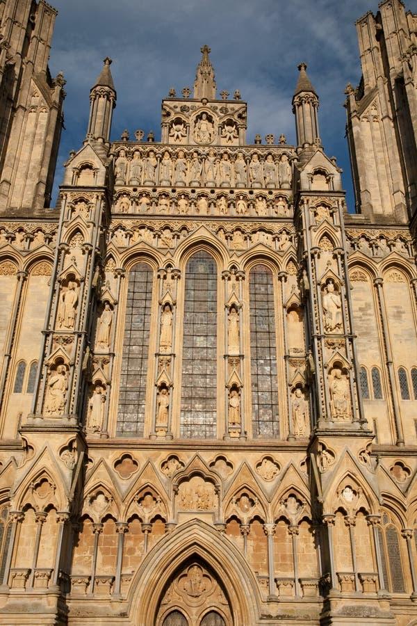 Poços catedral, Inglaterra, Reino Unido foto de stock royalty free