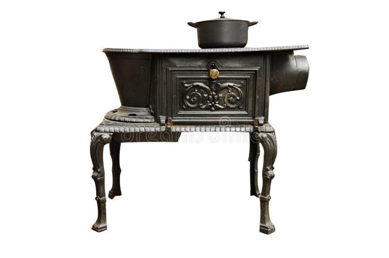 Poêle de cuisine antique photos libres de droits