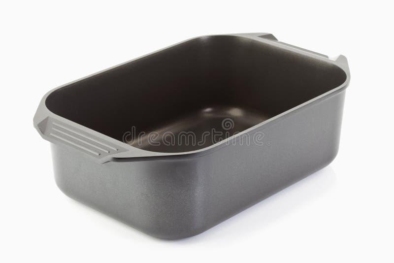 Poêle de moulage d'aluminium photographie stock libre de droits