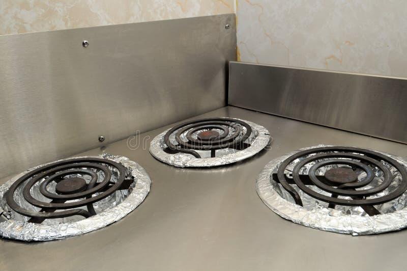 Poêles de cuisson images stock