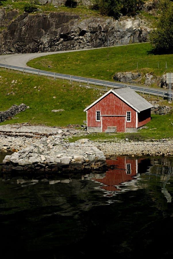 Poëtisch Scandinavië royalty-vrije stock afbeeldingen