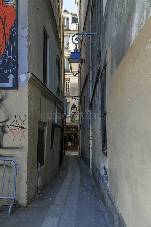 połów ulica w Paryż fotografia royalty free