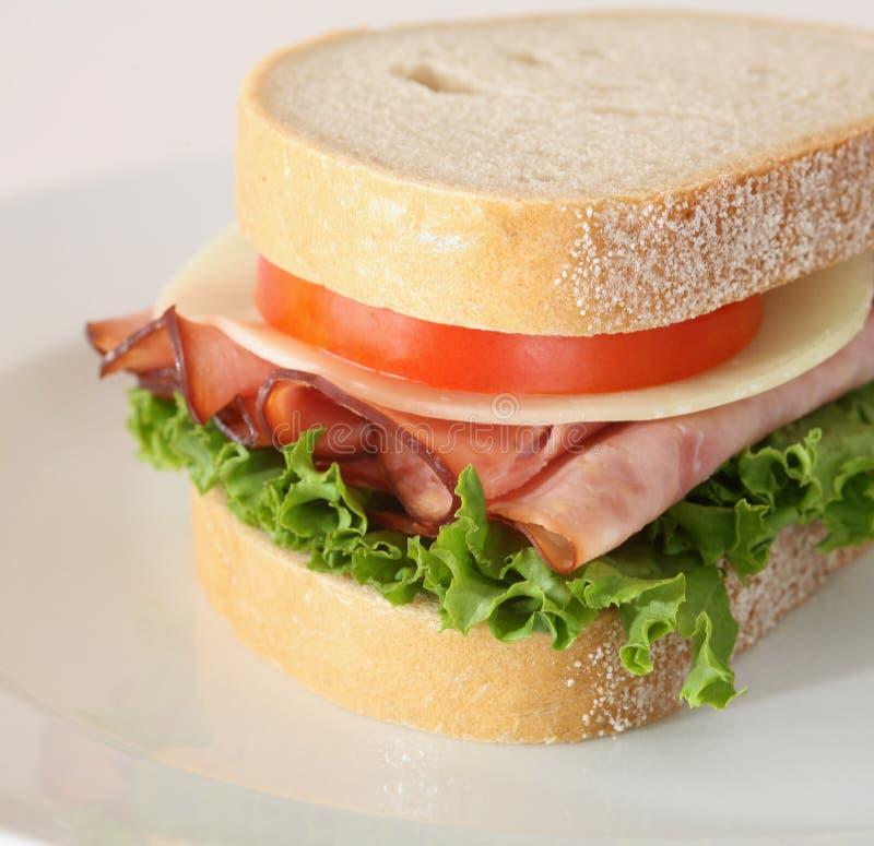 połówkę kanapki z serem zdjęcia stock