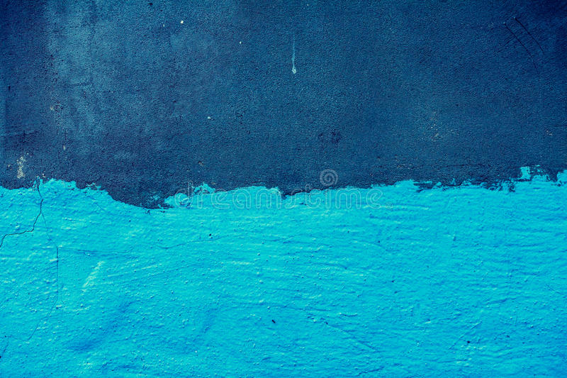Download Połówka malujący beton obraz stock. Obraz złożonej z wyznaczający - 53780591