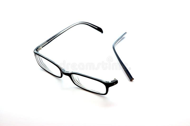 połamane okulary obraz royalty free
