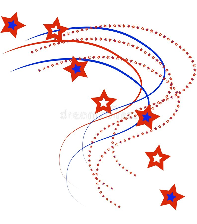 położenie pasów gwiazda ilustracja wektor