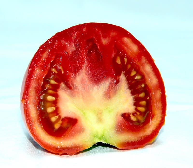połowa świeżych pomidorów zdjęcie royalty free