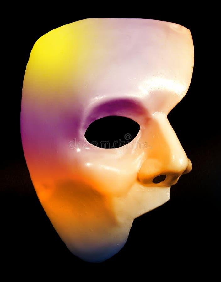 połowa maska fotografia stock