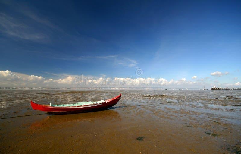połowowych łodzi obrazy royalty free