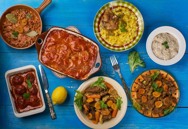 Południe - afrykańska kuchnia obraz stock