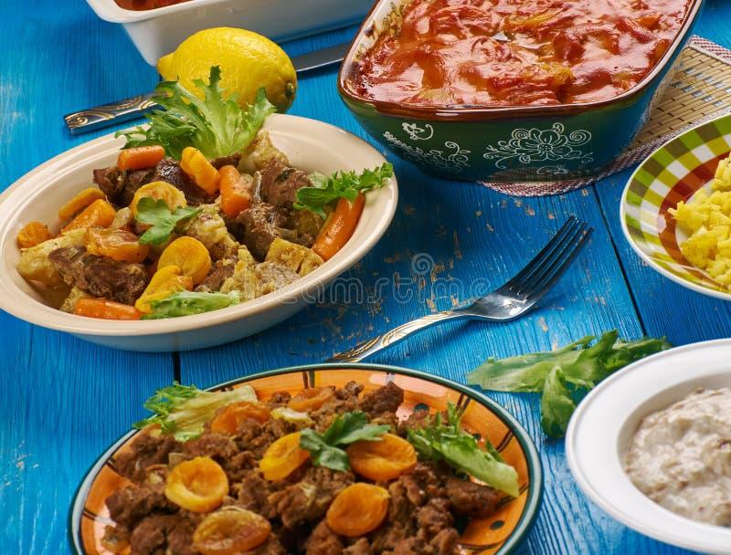 Południe - afrykańska kuchnia zdjęcie royalty free