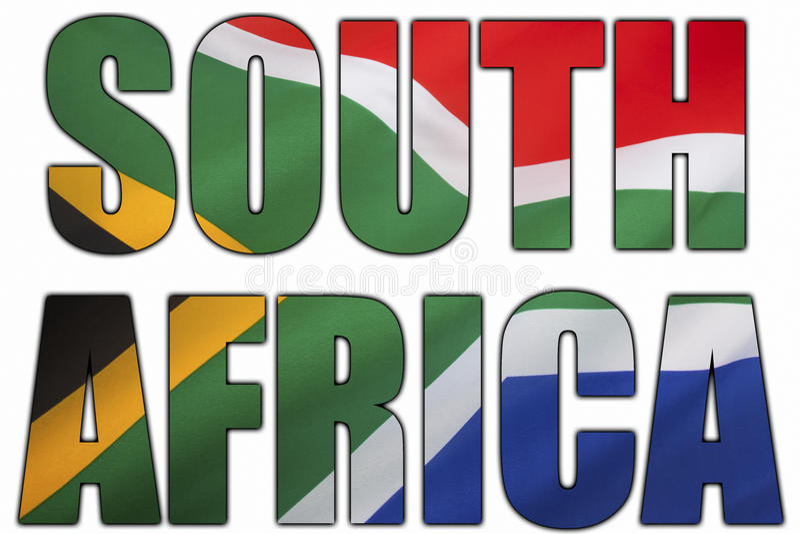 Południowa Afryka i flaga państowowa