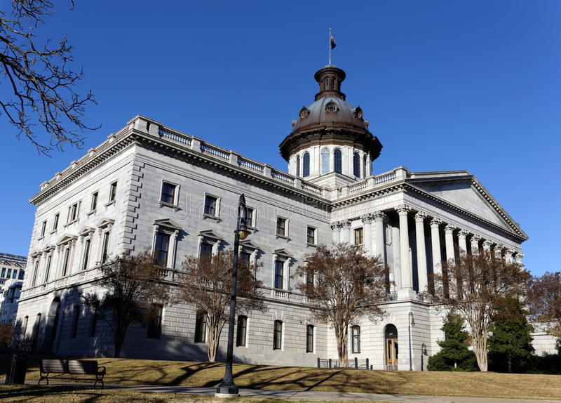 Południowa Karolina stanu capitol budynek zdjęcie royalty free
