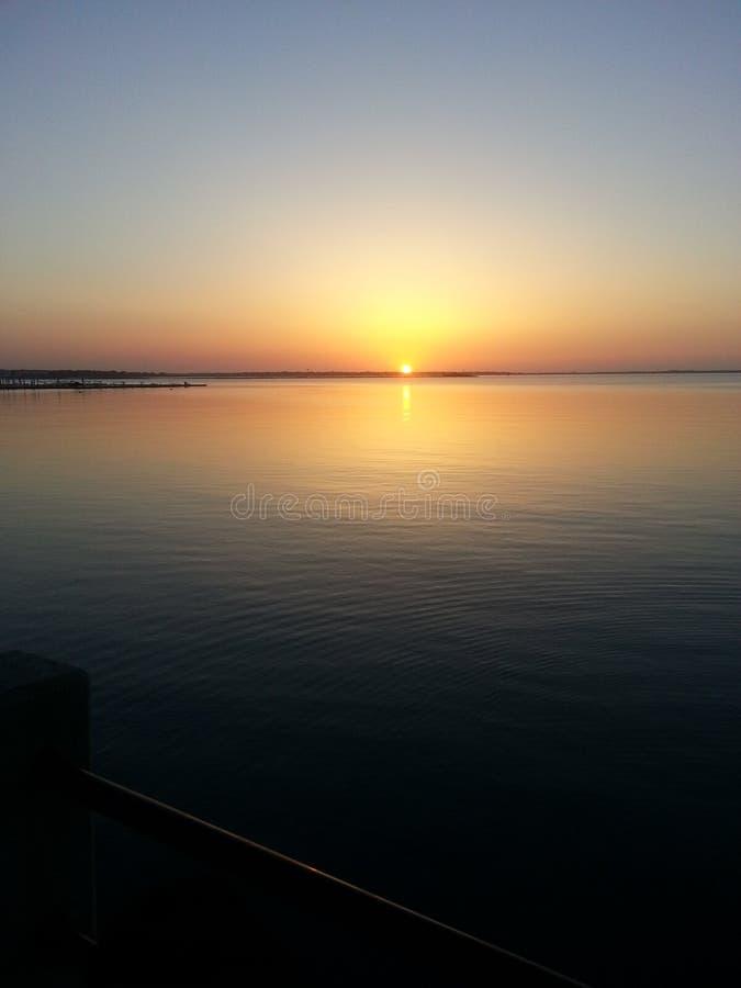 Południowa Karolina wschód słońca obraz royalty free