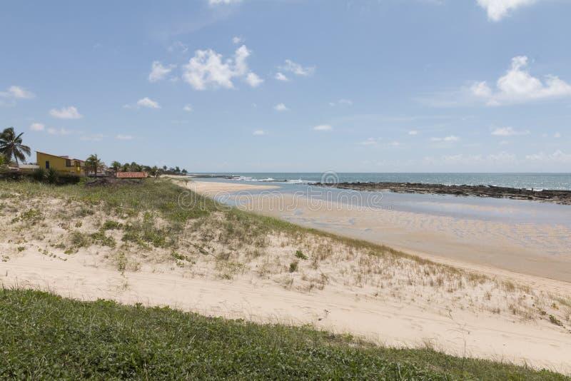 Południowa linia brzegowa - Natal, RN, Brazylia obrazy royalty free