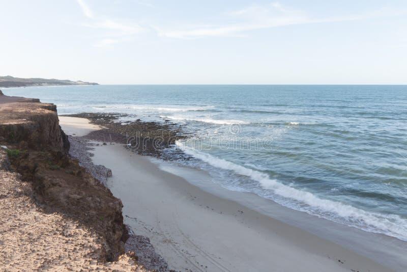 Południowa linia brzegowa - Natal, RN, Brazylia zdjęcia stock