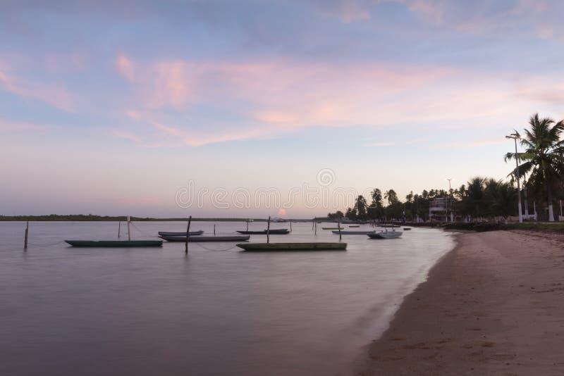Południowa linia brzegowa - Natal, RN, Brazylia fotografia royalty free