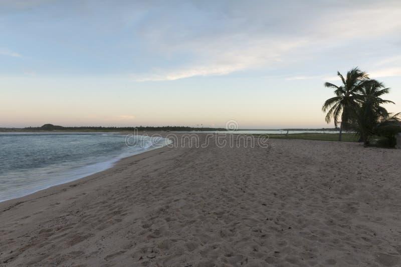 Południowa linia brzegowa - Natal, RN, Brazylia obraz stock