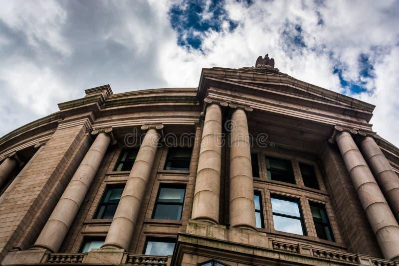 Południowa stacja w w centrum Boston, Massachusetts zdjęcia stock