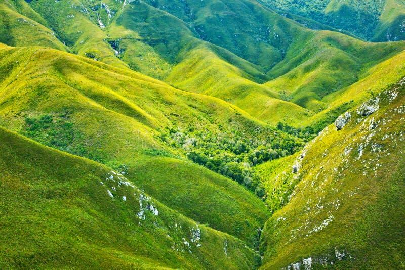 południowe tło afrykańskie góry obraz royalty free