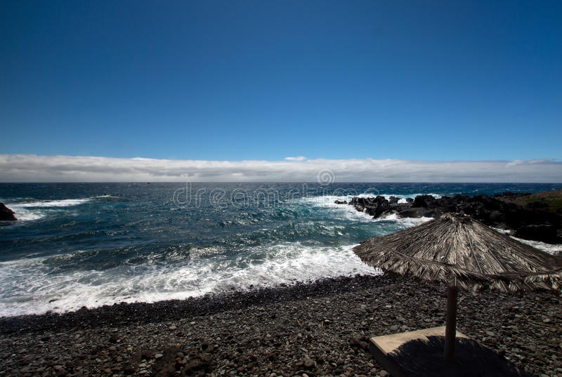 Południowe wybrzeże Madeira zdjęcie stock