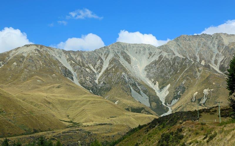 Południowi alps obraz stock