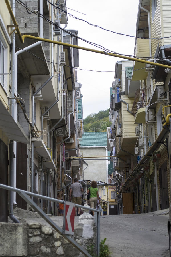 Południowi favelas Rosja zdjęcia royalty free