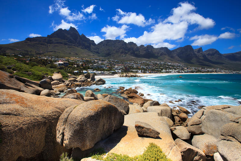 południowi podpalani Africa obozy obraz stock