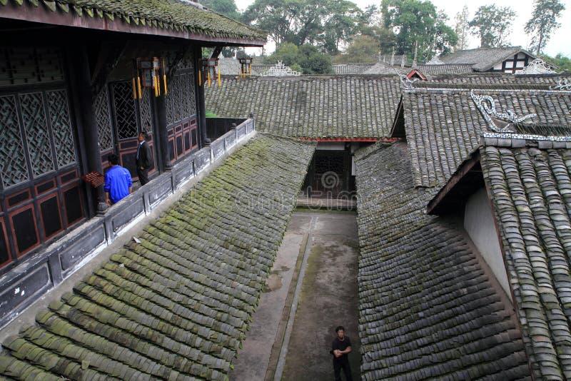 Południowi Sichuan antyczni mieszkania obrazy royalty free