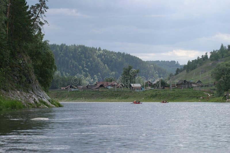 Południowi Urals fotografia stock