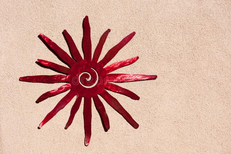 Południowo-zachodni słońce ornament obraz royalty free