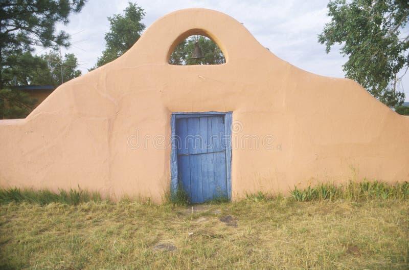 Południowo-zachodni stylowy wejście Greer Garson rancho zdjęcie royalty free