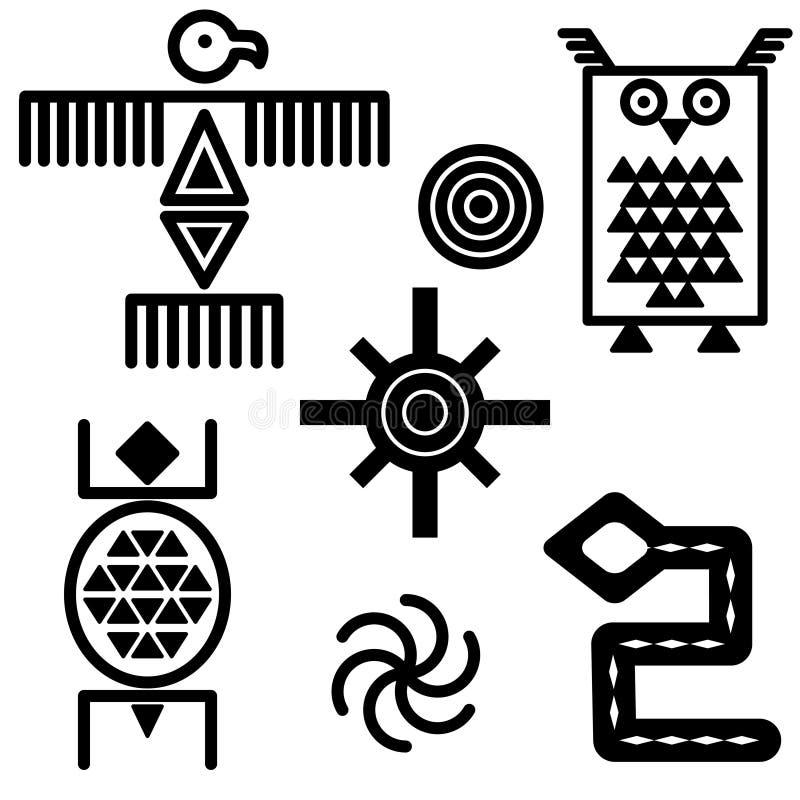 południowo - zachodnim ikony ilustracji