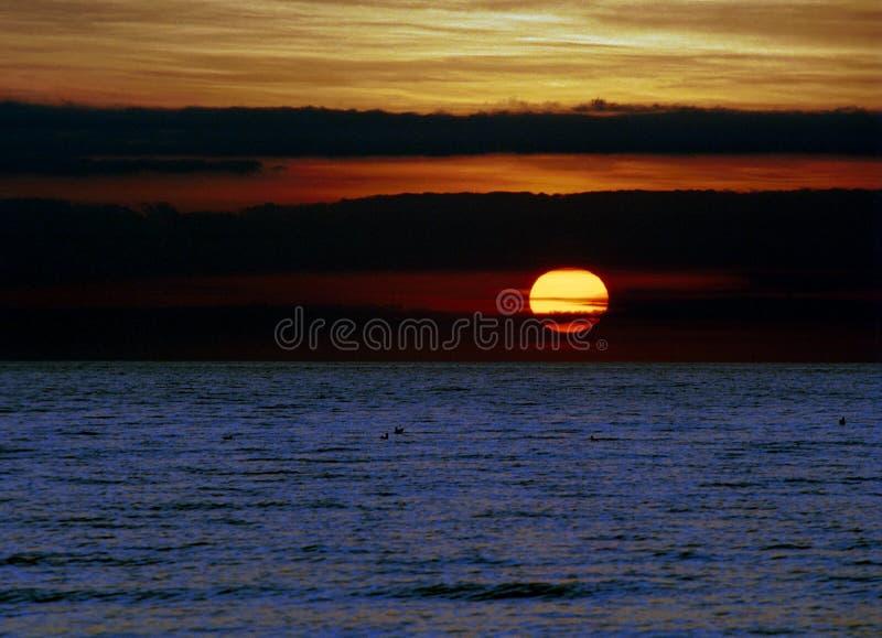 Południowy Carolina wschód słońca opóźniony zdjęcie royalty free