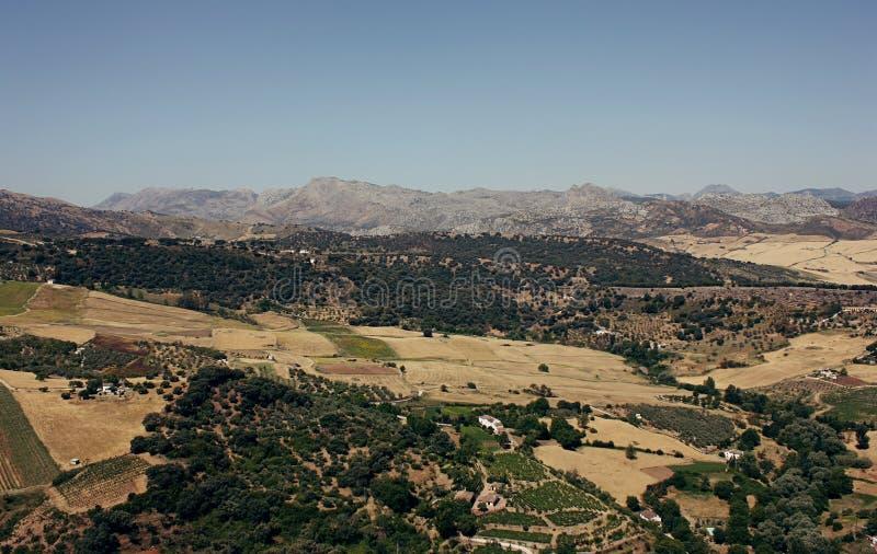 Południowy Hiszpania krajobraz zdjęcie royalty free
