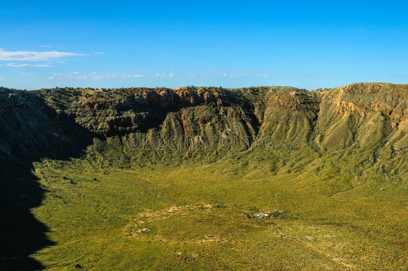 Południowy obręcz Meteorowy krater obrazy stock