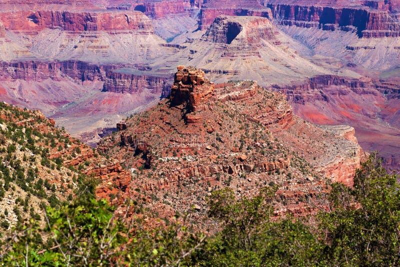 Południowy uroczysty jaru park narodowy, Arizona, usa obrazy royalty free