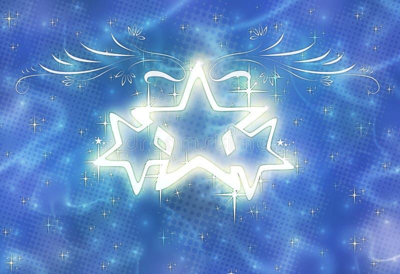 połysk gwiazdy royalty ilustracja