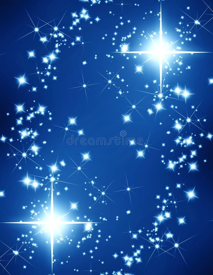 Połyskuje gwiazdy royalty ilustracja