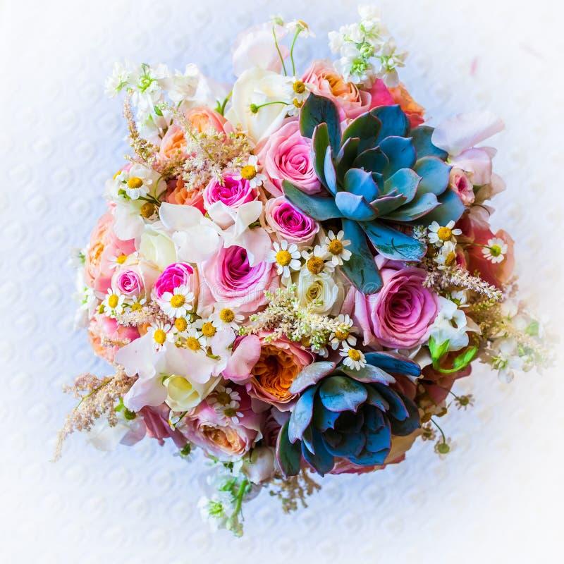 poślubić kwiatów obrazy stock