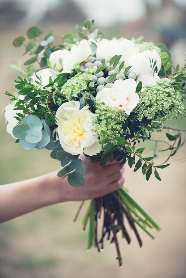 poślubić kwiatów zdjęcia royalty free