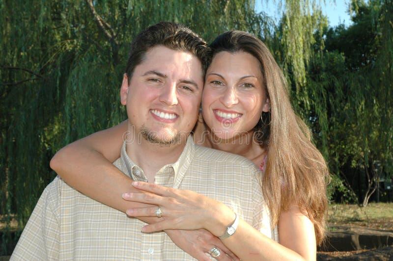 poślubić pary zdjęcie royalty free