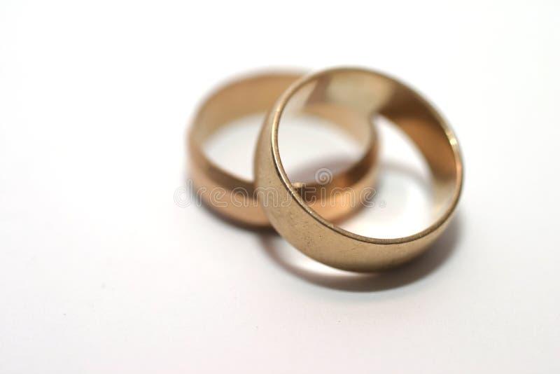 poślubić pierścieni fotografia royalty free