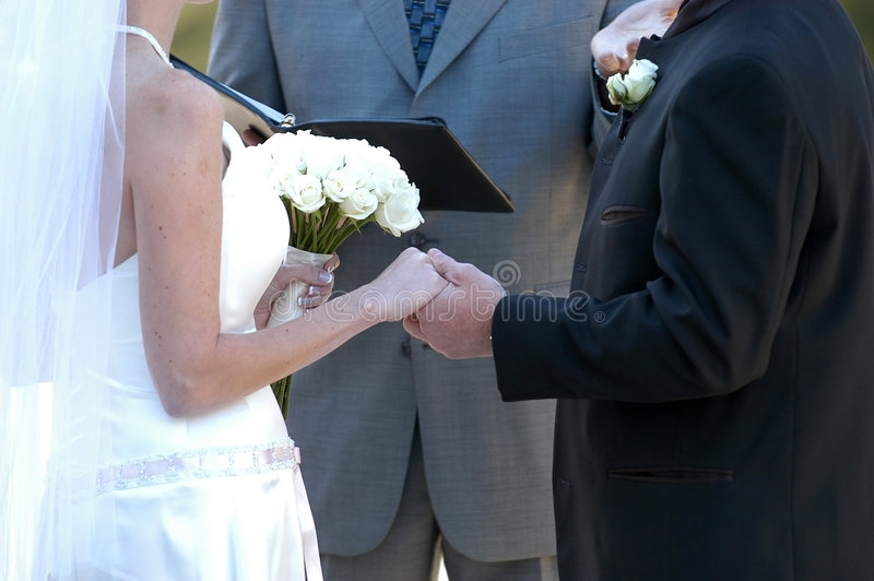 poślubić przemowy obraz royalty free