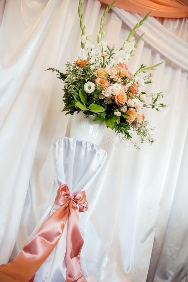 Poślubiać kwiat dekorację fotografia stock