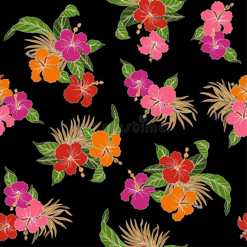Poślubnika kwiatu wzór ilustracji