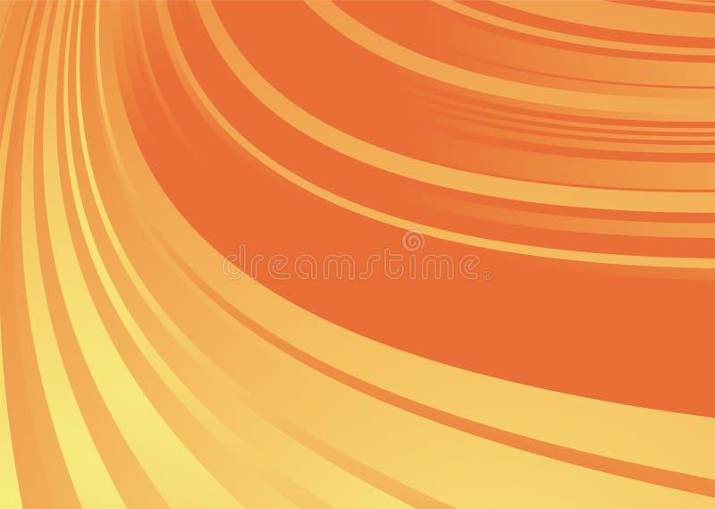 pośpiesz się pomarańczowe ilustracja wektor
