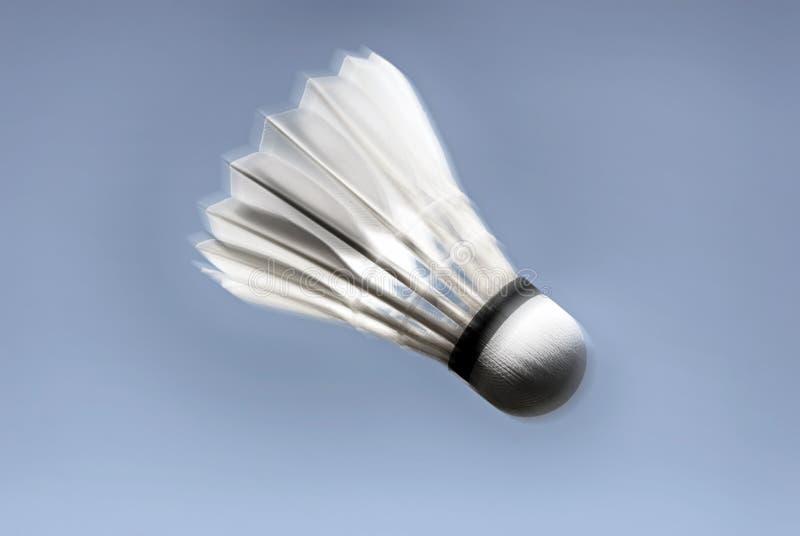 Pośpieszna badminton piłka fotografia royalty free