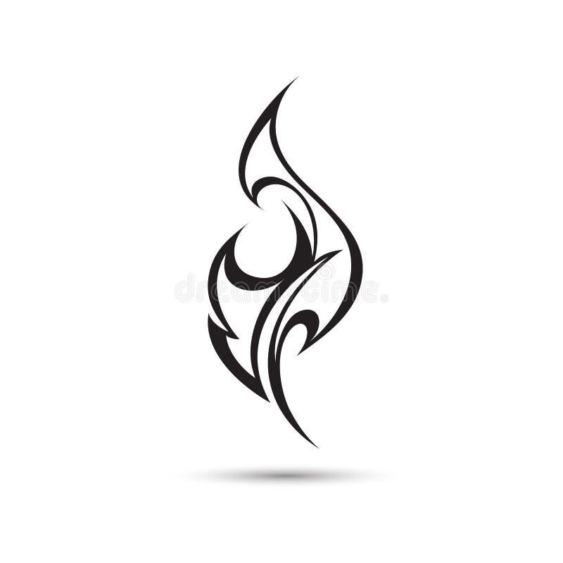 pożar lasu campingowy płomień ilustracji