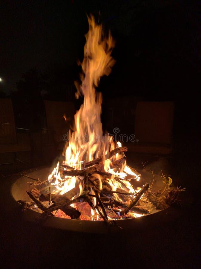 Pożarnicza jama zdjęcia royalty free
